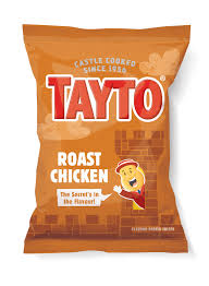 Tayto Roast Chicken Crisps x 6