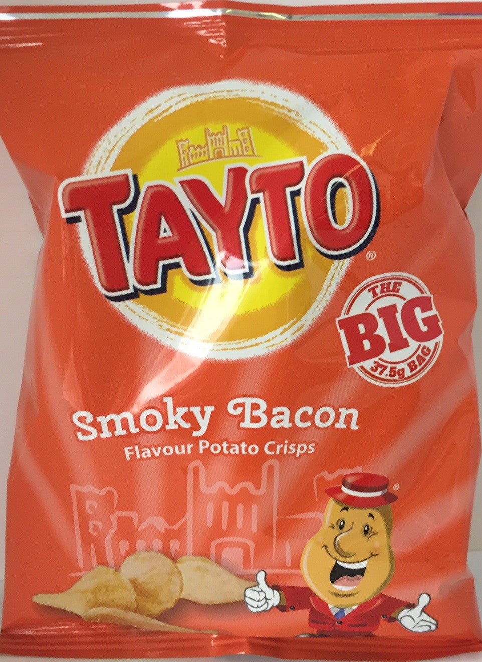 Tayto Smoky Bacon Crisps x 6