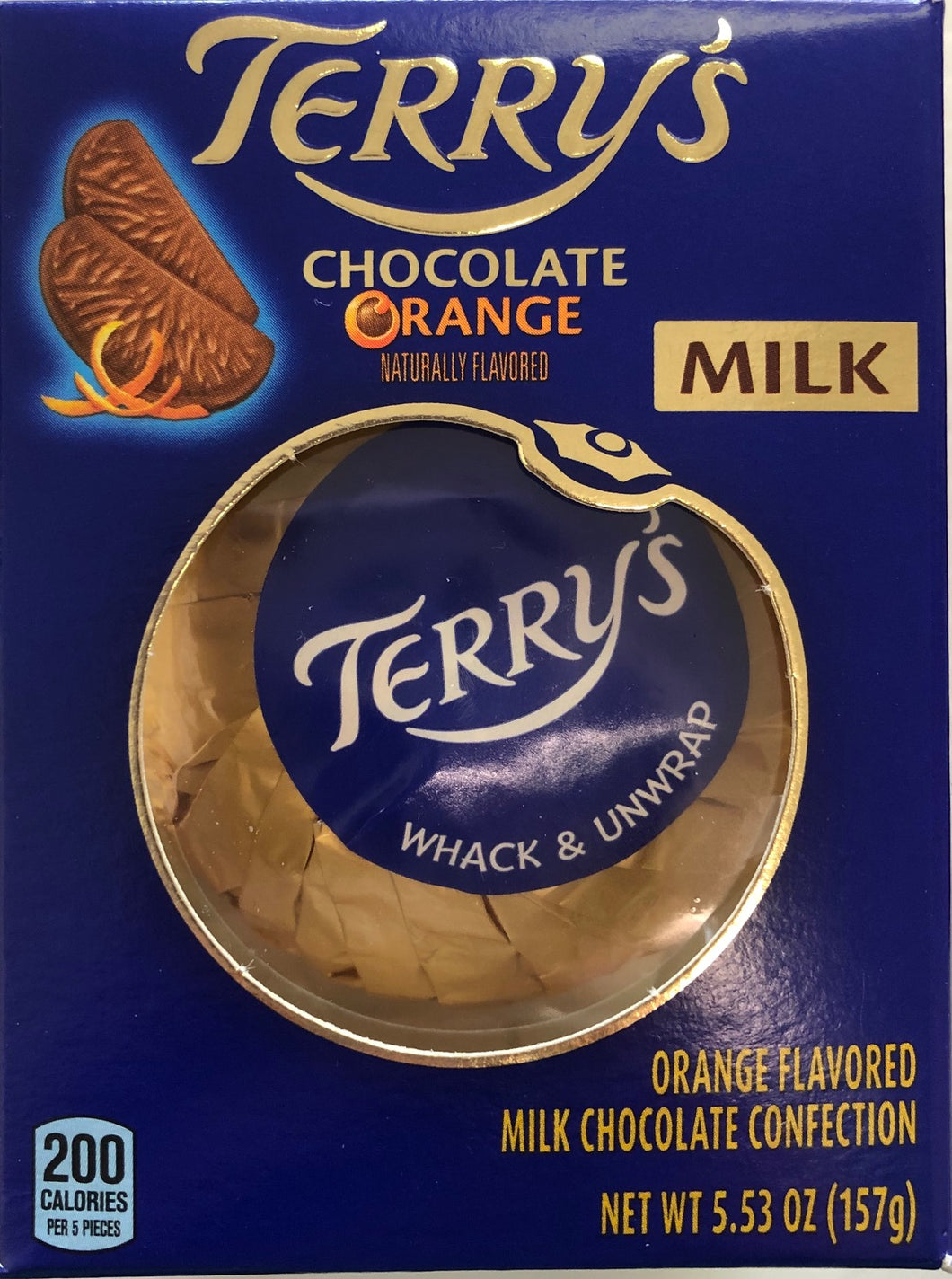 Terry's Chocolate Orange Milk Boxed