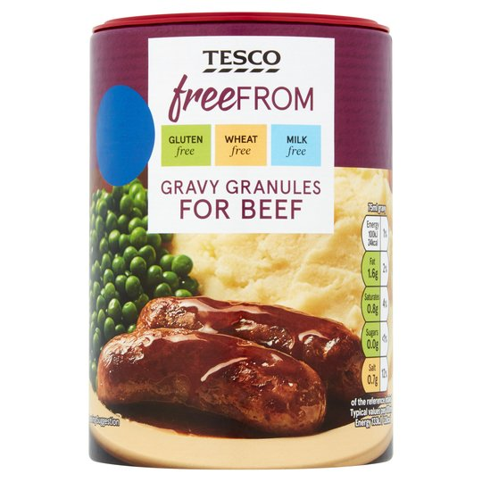 Tesco Free From Beef Gravy 170g