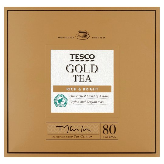 Tesco Gold 80 Teabags