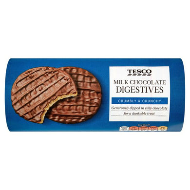 Tesco Milk Chocolate Digestive Biscuit 266g