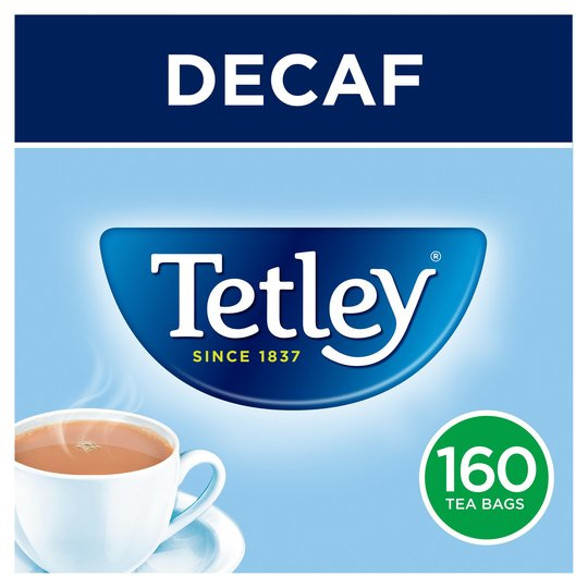 Tetley Tea Decaf 160ct teabags