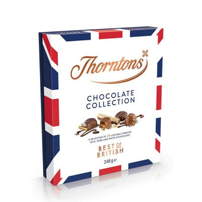 Thorntons Best of British Chocolate Collection 248g - Christmas