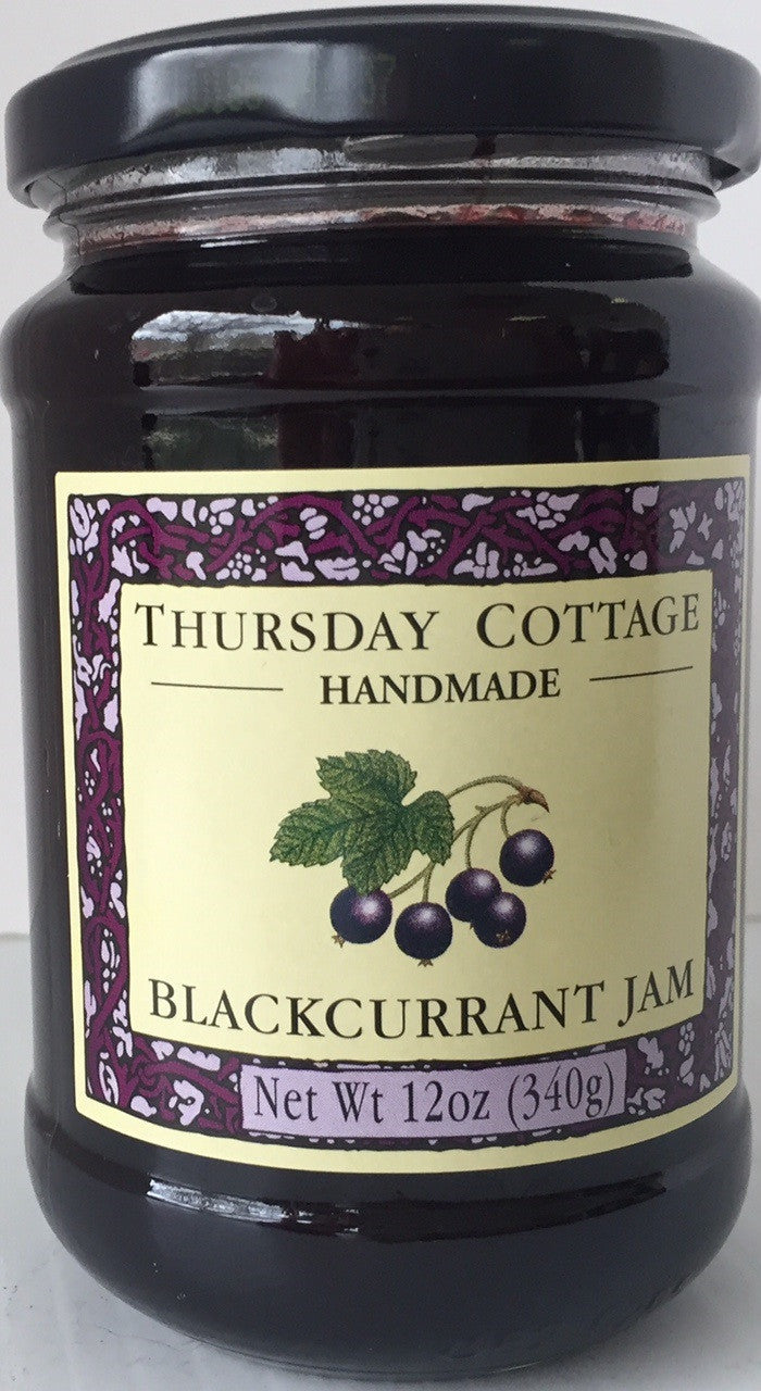 Thursday Cottage Blackcurrant Preserve  340g