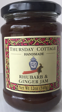 Thursday Cottage Rhubarb and Ginger Preserve 340g