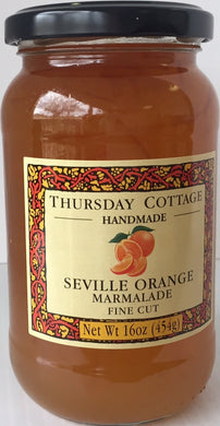 Thursday Cottage Fine Cut Orange Marmalade 1 lb