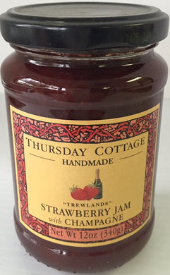 Thursday Cottage Strawberry and Champagne Jam 340g