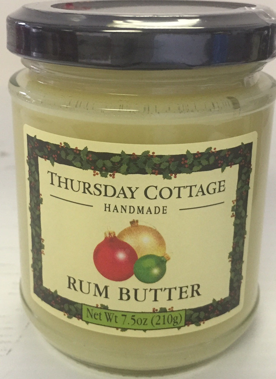Thursday Cottage Rum Butter  7.5 oz 210g - Christmas