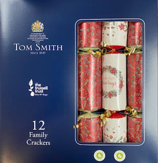 Tom Smith Christmas Crackers #1401 Red & Gold - Christmas