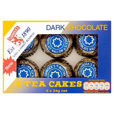 Tunnocks Teacakes DARK  6pk FRAGILE