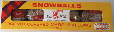 Tunnocks Marshmallow Snowballs 4pk FRAGILE
