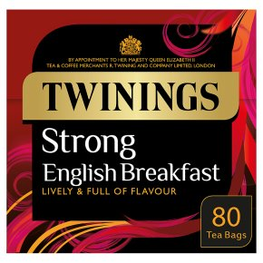 Twinings Strong English Breakfast 80 teabags