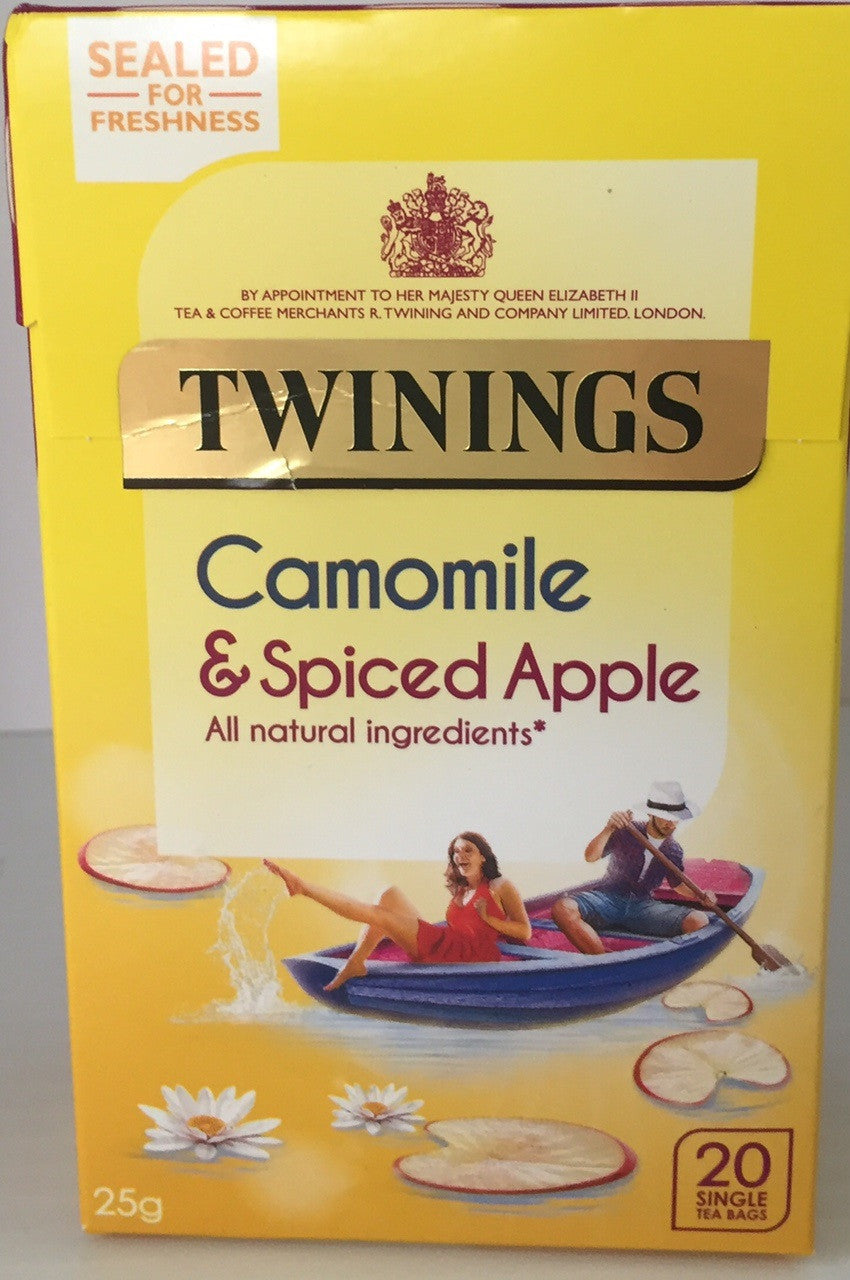 Twinings Camomile and Spiced Apple Teabags 20ct