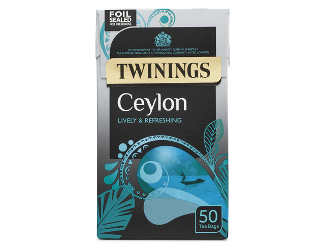 Twinings Ceylon Teabags 50ct
