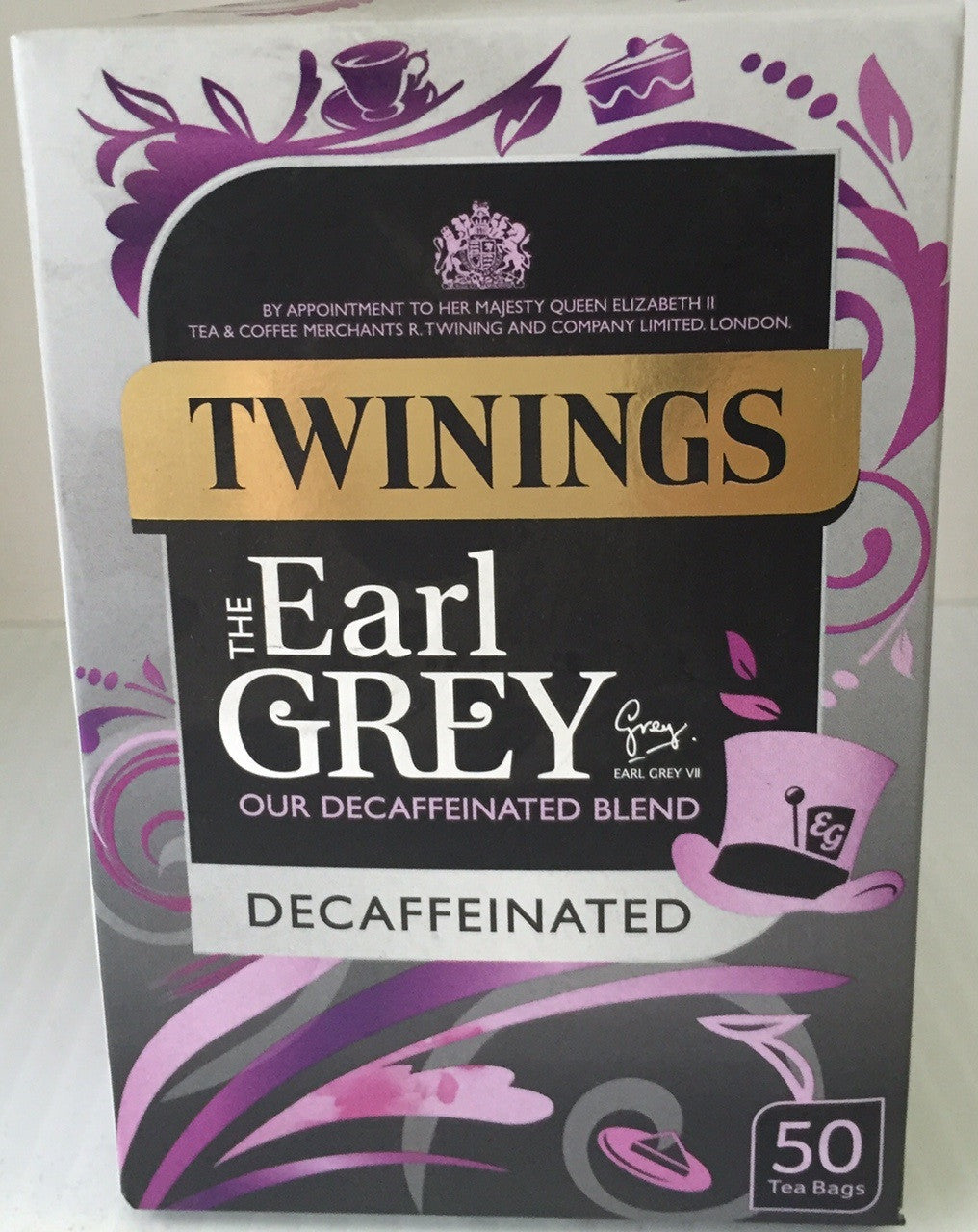 Twinings Decaf Earl Grey  Teabags 50's