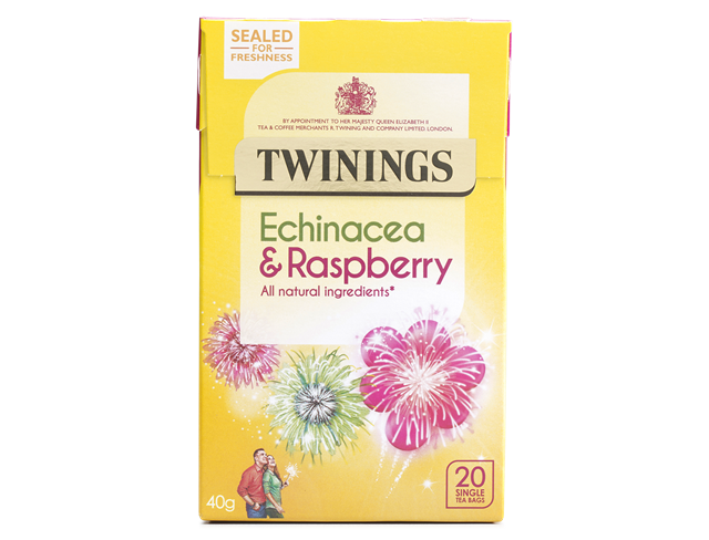 Twinings Echinachea and Raspberry Teabags 20ct