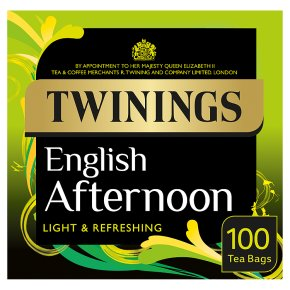 Twinings English Afternoon Teabags 100ct