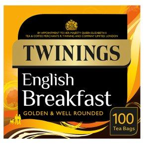Twinings English Breakfast Teabags 100 teabags