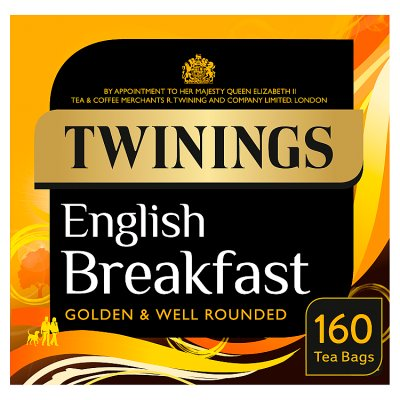 Twinings English Breakfast Teabags 160 teabags