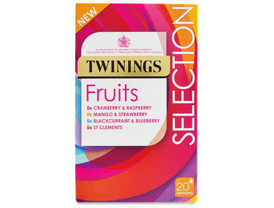 Twinings Fruit Selection Teabags 20ct