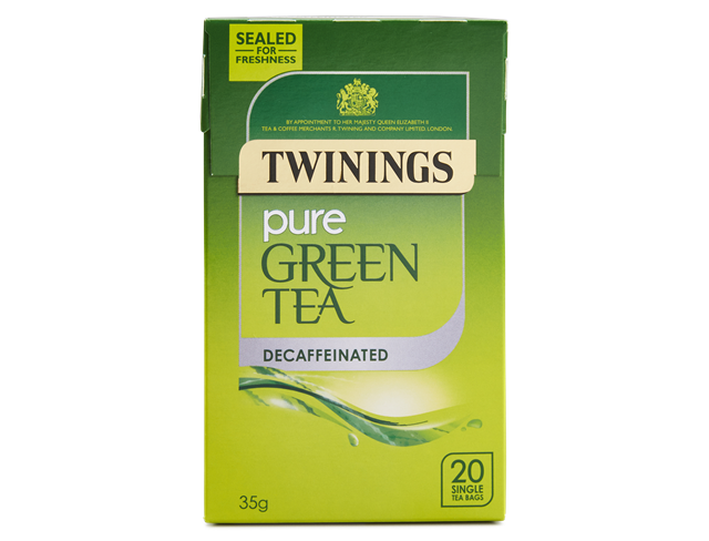 Twinings Pure Green Decaffeinated Tea 20ct