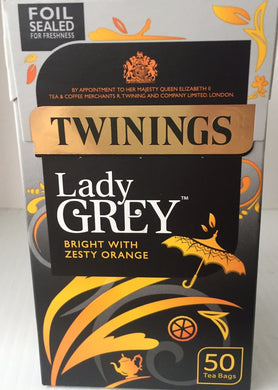 Twinings Lady Grey Teabags 50ct