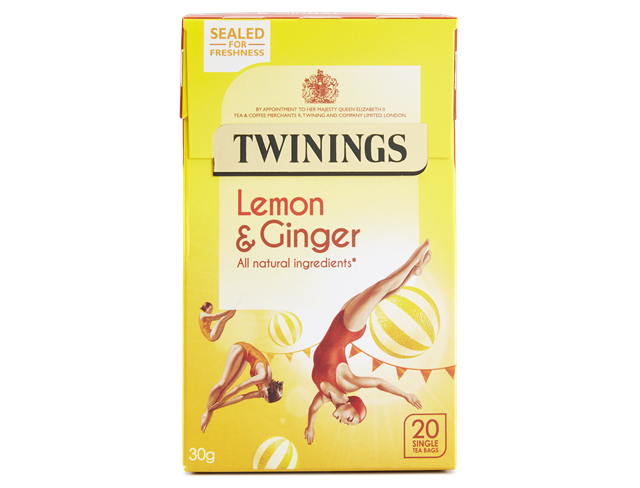 Twining Lemon and Ginger 20 bags