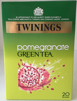 Twinings Tea Green Tea With Pomegranate 20ct