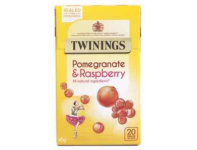 Twinings Pomegranate and Raspberry infusion 20's