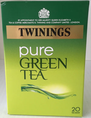 Twinings Green Tea Pure 20's bags