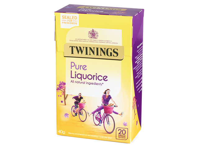 Twinings Pure Liquorice Teabags 20ct