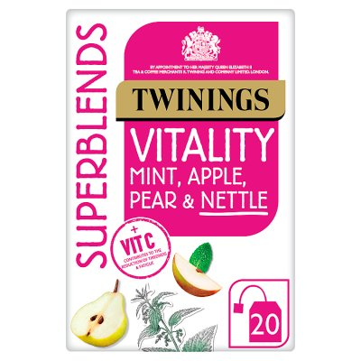 Twinings Superblends Vitality Teabags 20ct