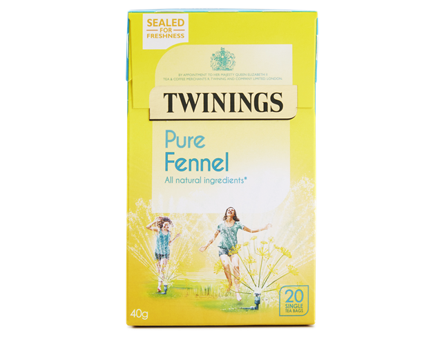 Twinings Pure Fennel Teabags 20ct