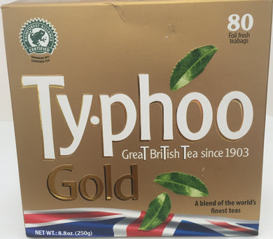 Typhoo Gold Blend Teabags 80ct