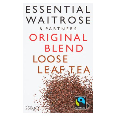 Waitrose Essential  Original blend Loose Tea 250g