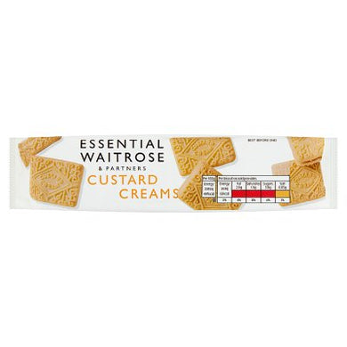 Waitrose Essential Custard Creams 150g