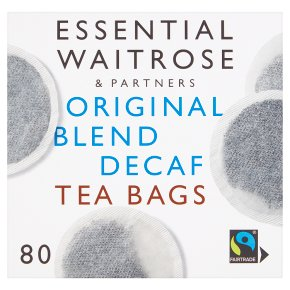 Waitrose Essential Decaf Tea bags 80ct