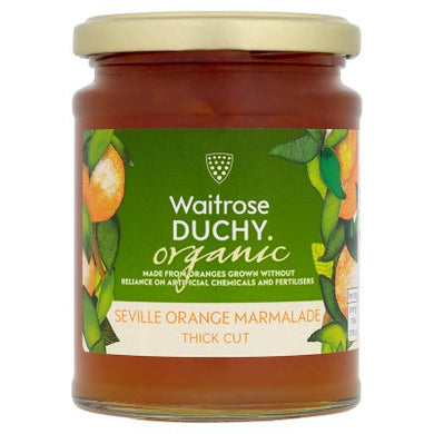 Duchy Organic Thick Cut Seville Orange Marmalade 340g