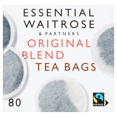 Waitrose Essential Original Blend Tea 80's