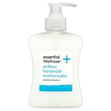 Waitrose Essential Antibacterial Handwash 250ml