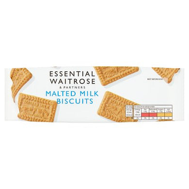 Waitrose Essential  Malted Milk Biscuits 200g