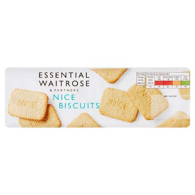 Waitrose Nice Biscuits 250g