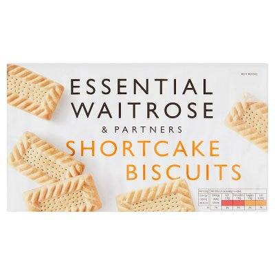 Waitrose Shortcake Biscuit 400g