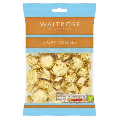 Waitrose Dairy Toffee Bag 200g