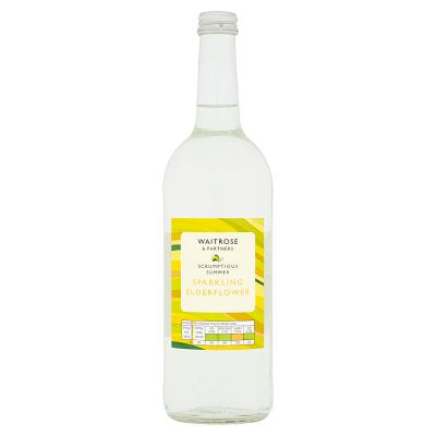 Waitrose Elderflower Presse 750ml- GLASS