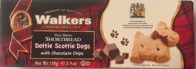 Walkers Shortbread Dottie Scottie Dogs 3.9oz # 1864