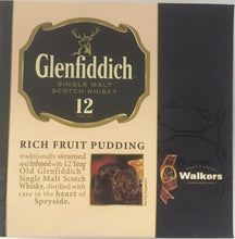 Walkers Plum Pudding Glenfiddich 8oz  Walkers  #3712 - Christmas