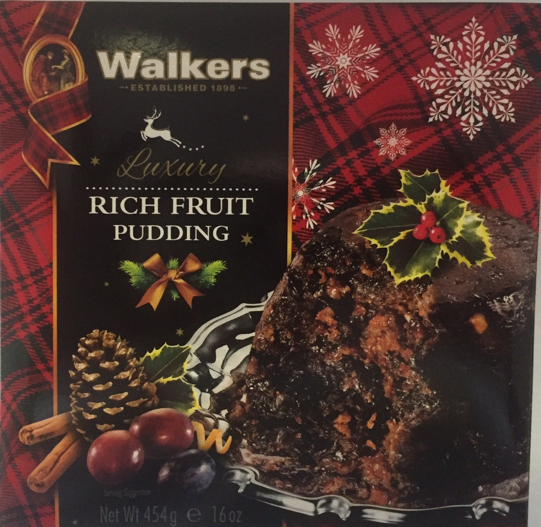 Walkers Plum Pudding 16oz  #3701