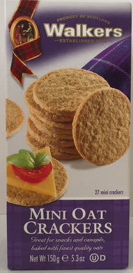 Walkers Mini Oatcake Crackers  5.3oz #216